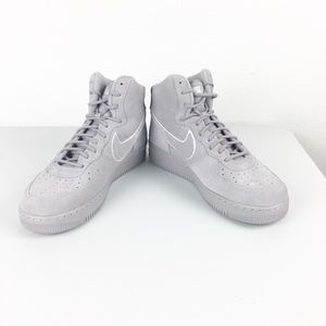 Nike Air Force 1 Suede Gray 2017 Shoes New